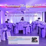 Prestations Mariages 2019