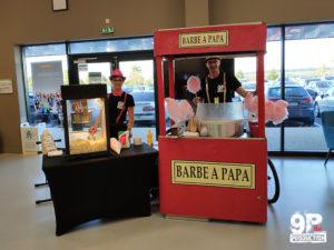 barbapapa et popcorn